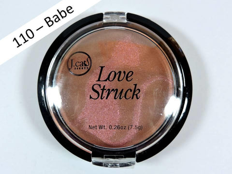 J. Cat Beauth Love Struck Blusher + Bronzer LGP 110 Babe 7.5g NEW Makeup