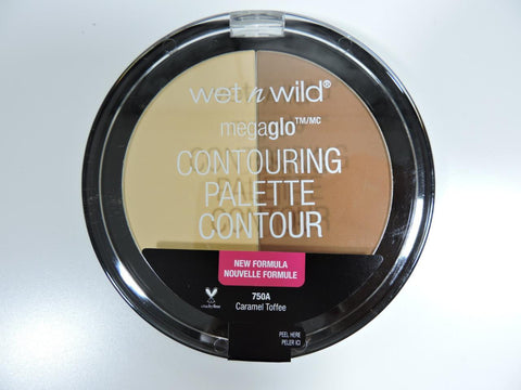 Wet n Wild megaglo Contouring Palette Powder 750A Caramel Toffee NEW FORMULA