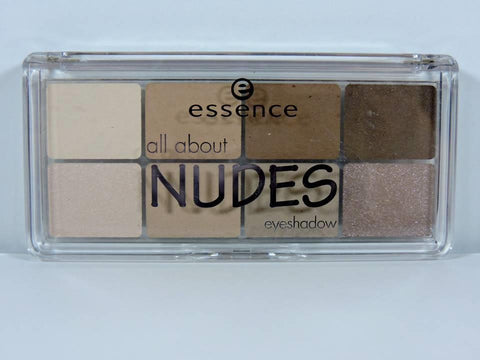 ESSENCE All About Nudes Eyeshadow 02 | NEW Makeup Palette 9.5g