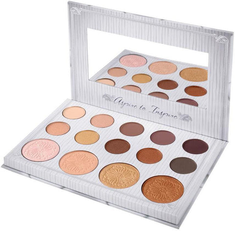 BH Cosmetics CARLI BYBEL 14-Color Eye Shadow & Highlighter Palette NEW / Sealed