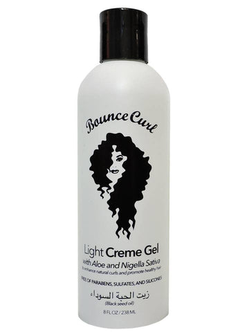 Bounce Curl Light Creme Hair Gel with Aloe