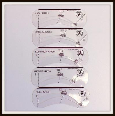 Anastasia Beverly Hills BROW STENCILS Template Set NEW Authentic Eyebrow Stencil