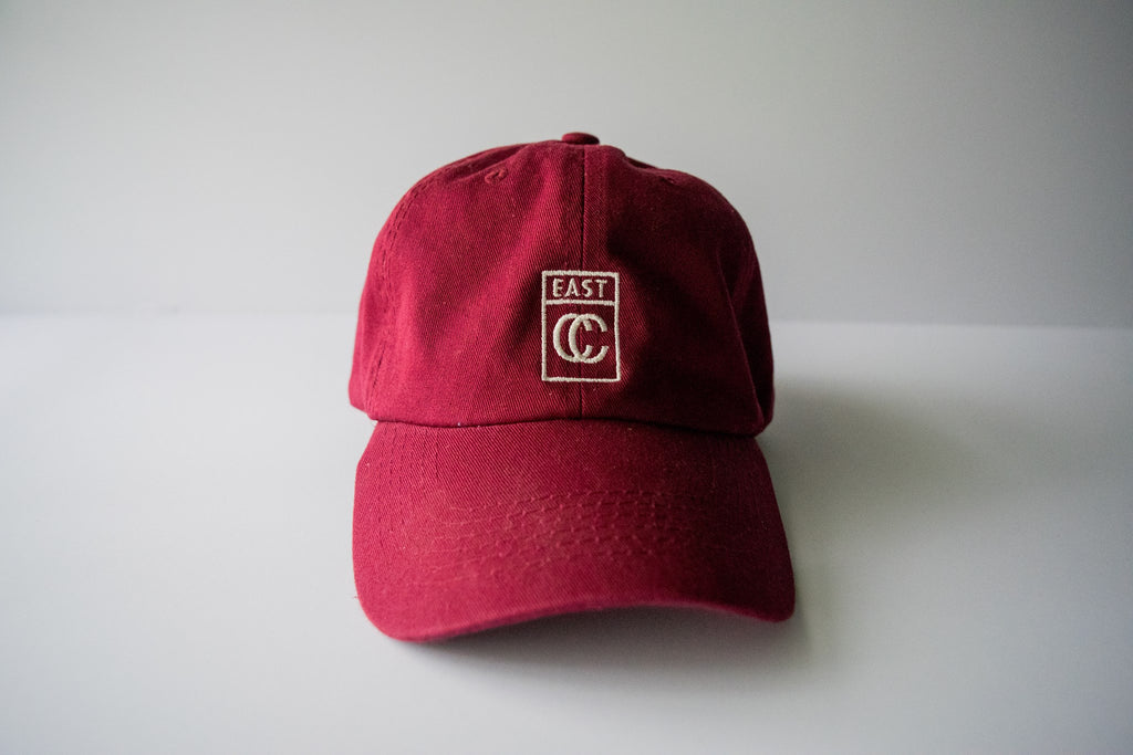 Logo Dad Cap - Red - East Coast Craft
