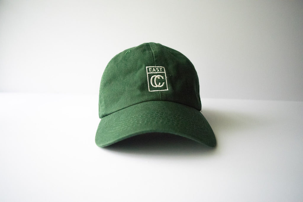 Logo Dad Hat - Dark Green - East Coast Craft