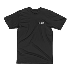 THE STUNNER TEE BLACK - East Coast Craft