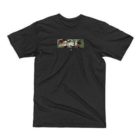 ZONE 6 CAMO TEE - East Coast Craft
