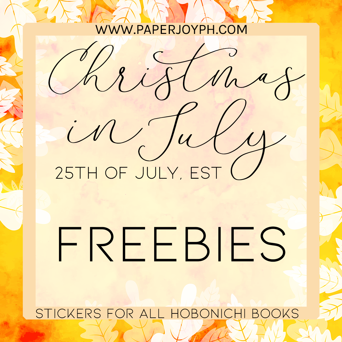CHRISTMAS IN JULY 2019 | FREEBIES & SALE MECHANICS