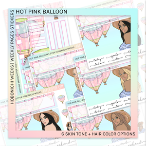 HOBONICHI WEEKS | WEEKLY PAGES | Hot Pink Balloon