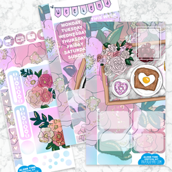 Personal Planner Vertical Sticker Kit | Alone Time