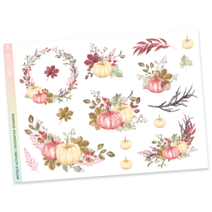 DECORATIVE SHEET | Antique Autumn