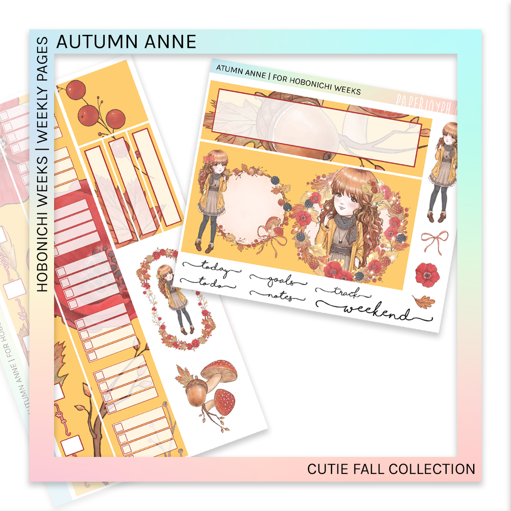 HOBONICHI WEEKS | WEEKLY PAGES | Autumn Anne