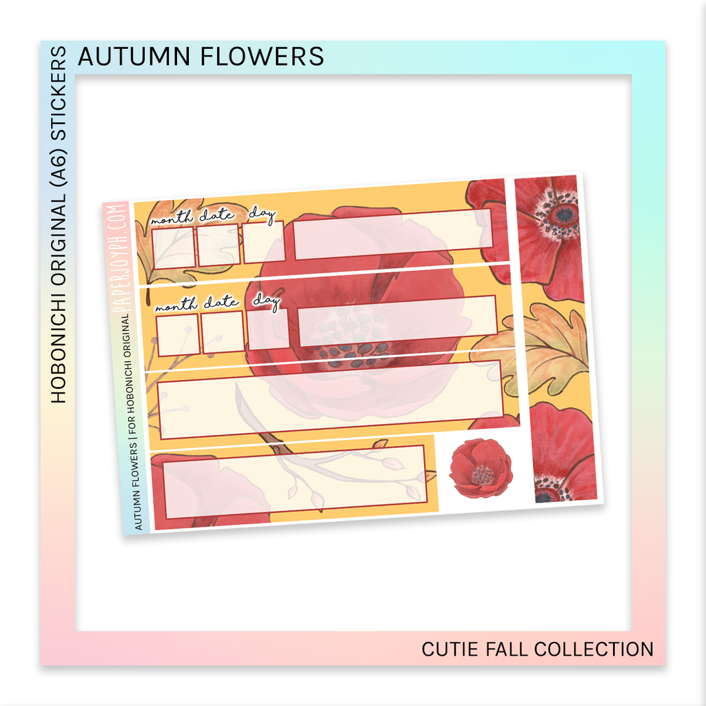 HOBONICHI ORIGINAL (A6) | Autumn Flowers