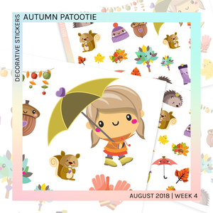 DECORATIVE SHEET | Autumn Patootie