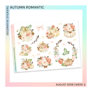DECORATIVE SHEET | Autumn Romantic