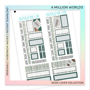 PRINTABLE | HOBONICHI WEEKS | A Million Worlds