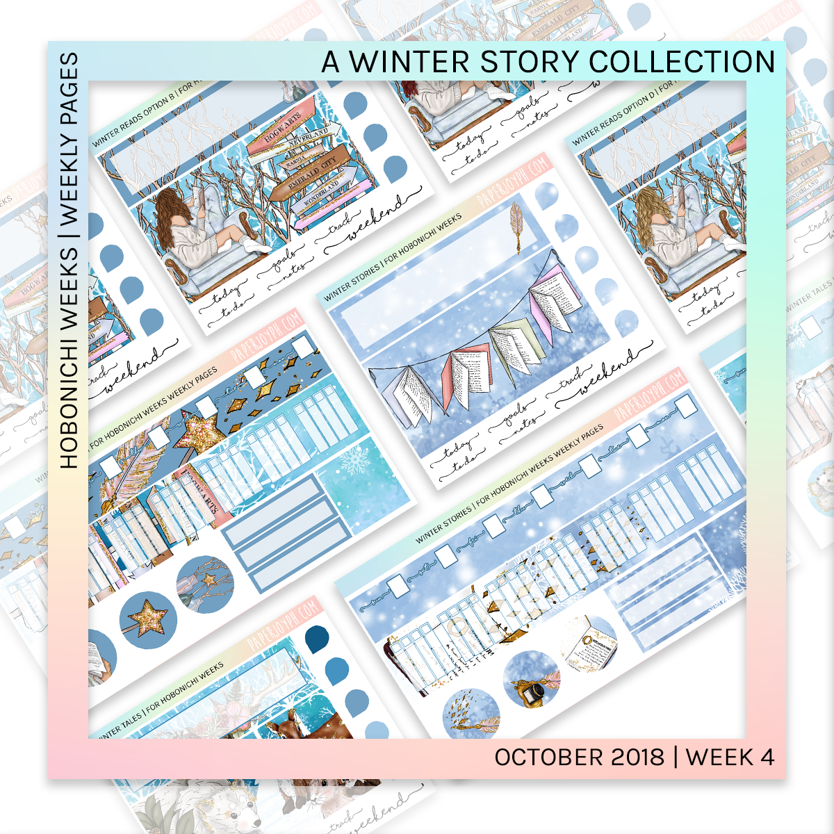 HOBONICHI WEEKS | WEEKLY PAGES | Winter Stories