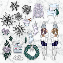 Die Cuts | BABY IT'S COLD OUTSIDE