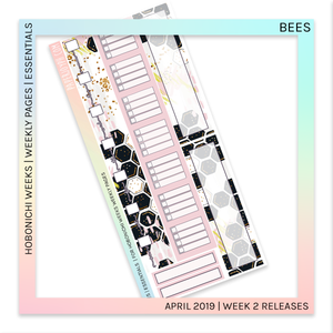 HOBONICHI WEEKS | ESSENTIALS | Bees