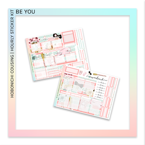 HOBONICHI COUSIN | HOURLY STICKER KIT | Be You