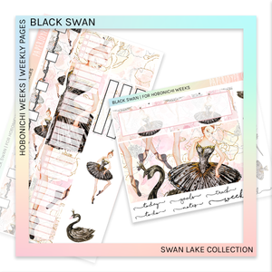 HOBONICHI WEEKS | WEEKLY PAGES | Black Swan