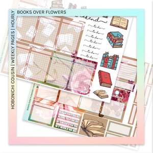 HOBONICHI COUSIN | HOURLY STICKER KIT | Books Over Flowers