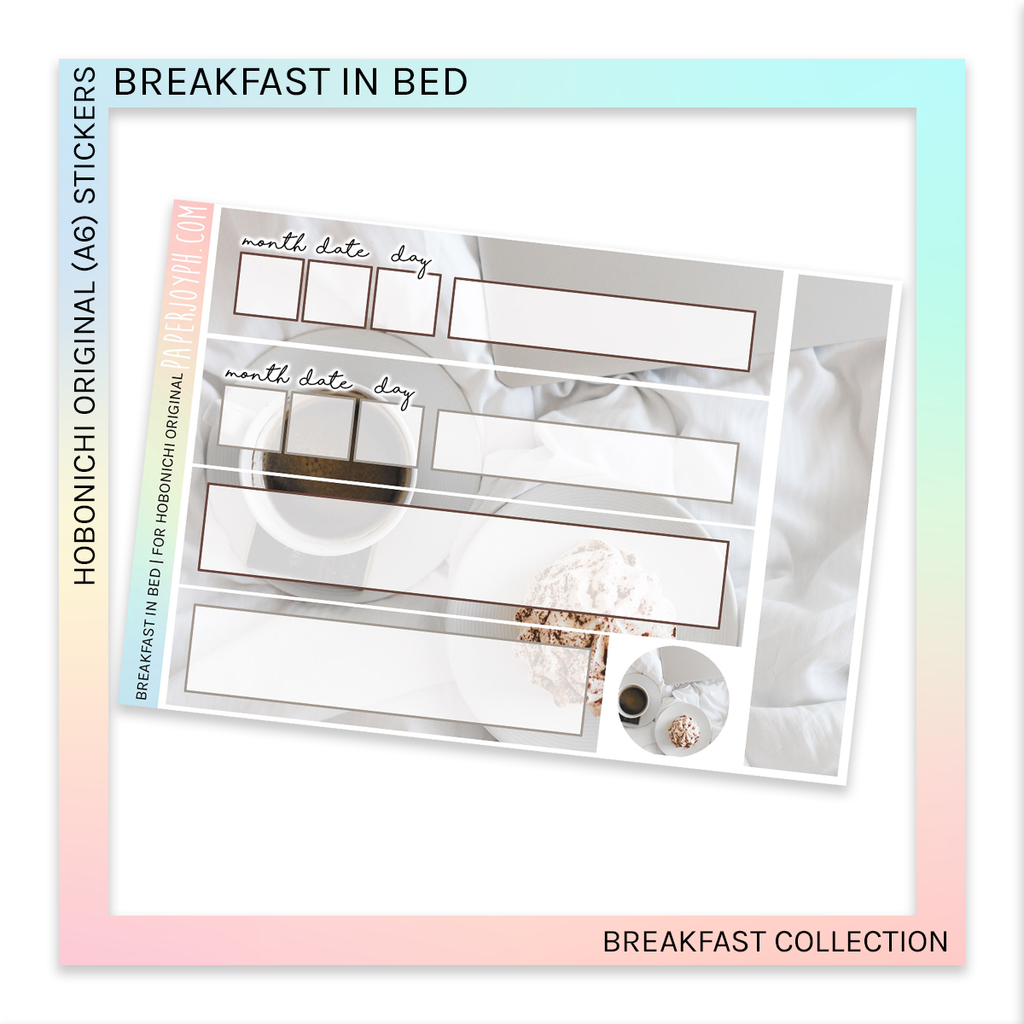 HOBONICHI ORIGINAL (A6) | Breakfast in Bed