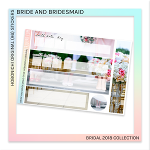 HOBONICHI ORIGINAL (A6) | Bride and Bridesmaid