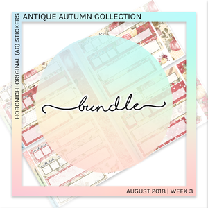 HOBONICHI ORIGINAL (A6) | Antique Autumn Bundle
