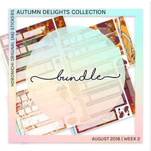 HOBONICHI ORIGINAL (A6) | Autumn Delights Bundle