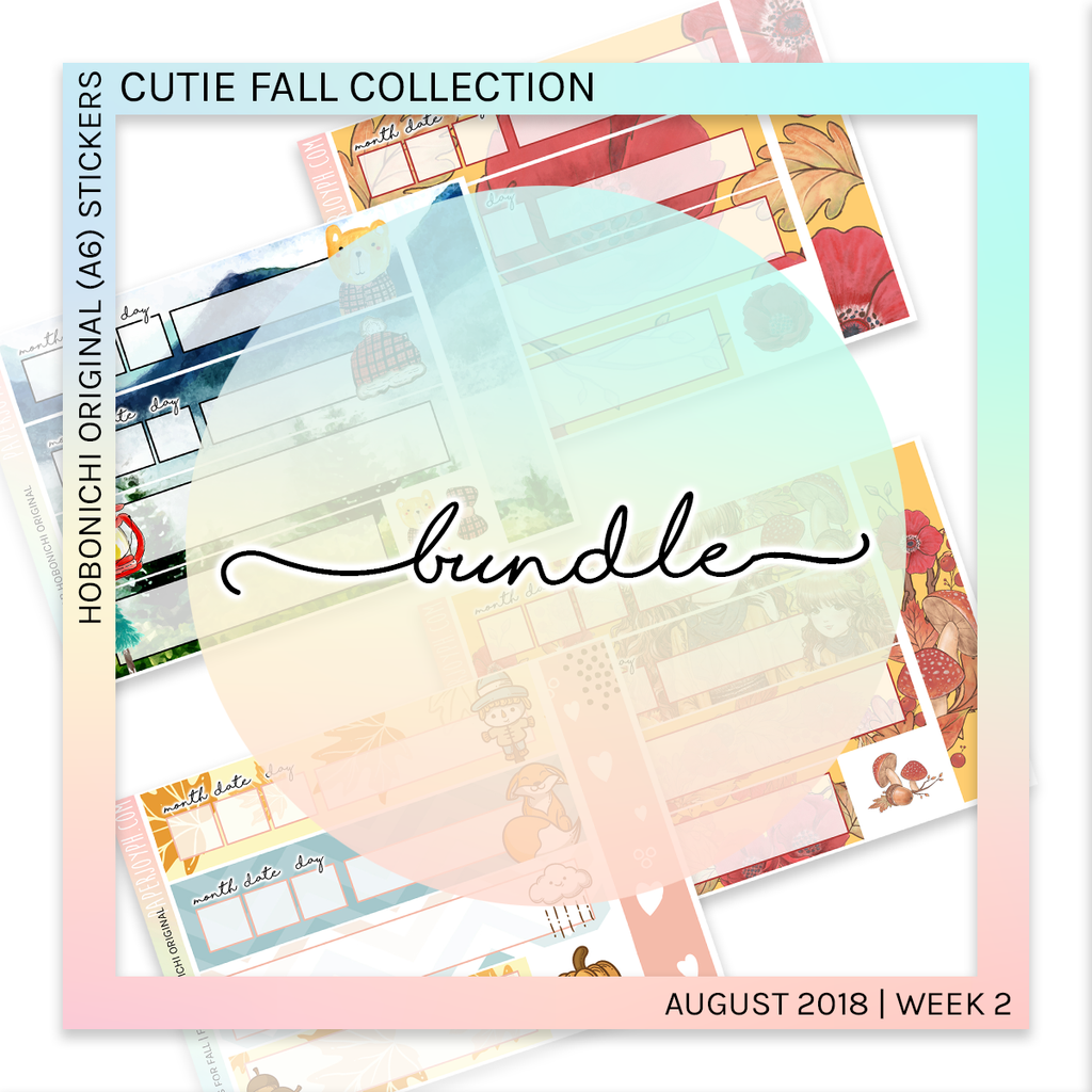 HOBONICHI ORIGINAL (A6) | Cutie Fall Bundle