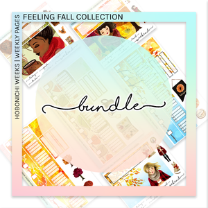 HOBONICHI WEEKS | WEEKLY PAGES | Feeling Fall Bundle