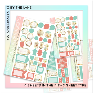FUNCTIONAL STICKER KITS | By The Lake