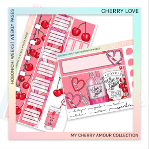 HOBONICHI WEEKS | WEEKLY PAGES | Cherry Love