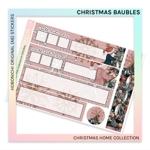 HOBONICHI ORIGINAL (A6) | Christmas Baubles