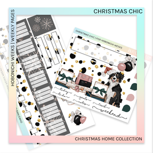 HOBONICHI WEEKS | WEEKLY PAGES | Christmas Chic