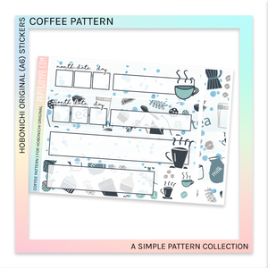 HOBONICHI ORIGINAL (A6) | Coffee Pattern
