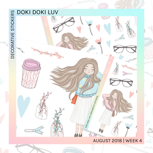 DECORATIVE SHEET | DOKI DOKI LUV