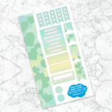 Personal Planner Horizontal Sticker Kit | DON'T KNOW WHAT TO SAY