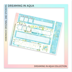 HOBONICHI ORIGINAL (A6) | Dreaming in Aqua