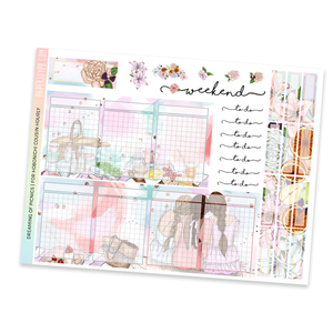 HOBONICHI COUSIN | HOURLY STICKER KIT | Dreaming of Picnics