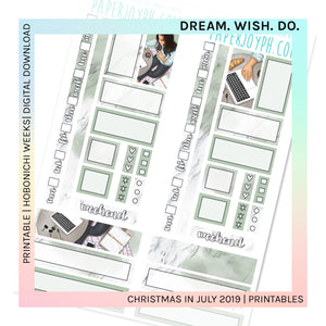 PRINTABLE | HOBONICHI WEEKS | DREAM. WISH. DO.