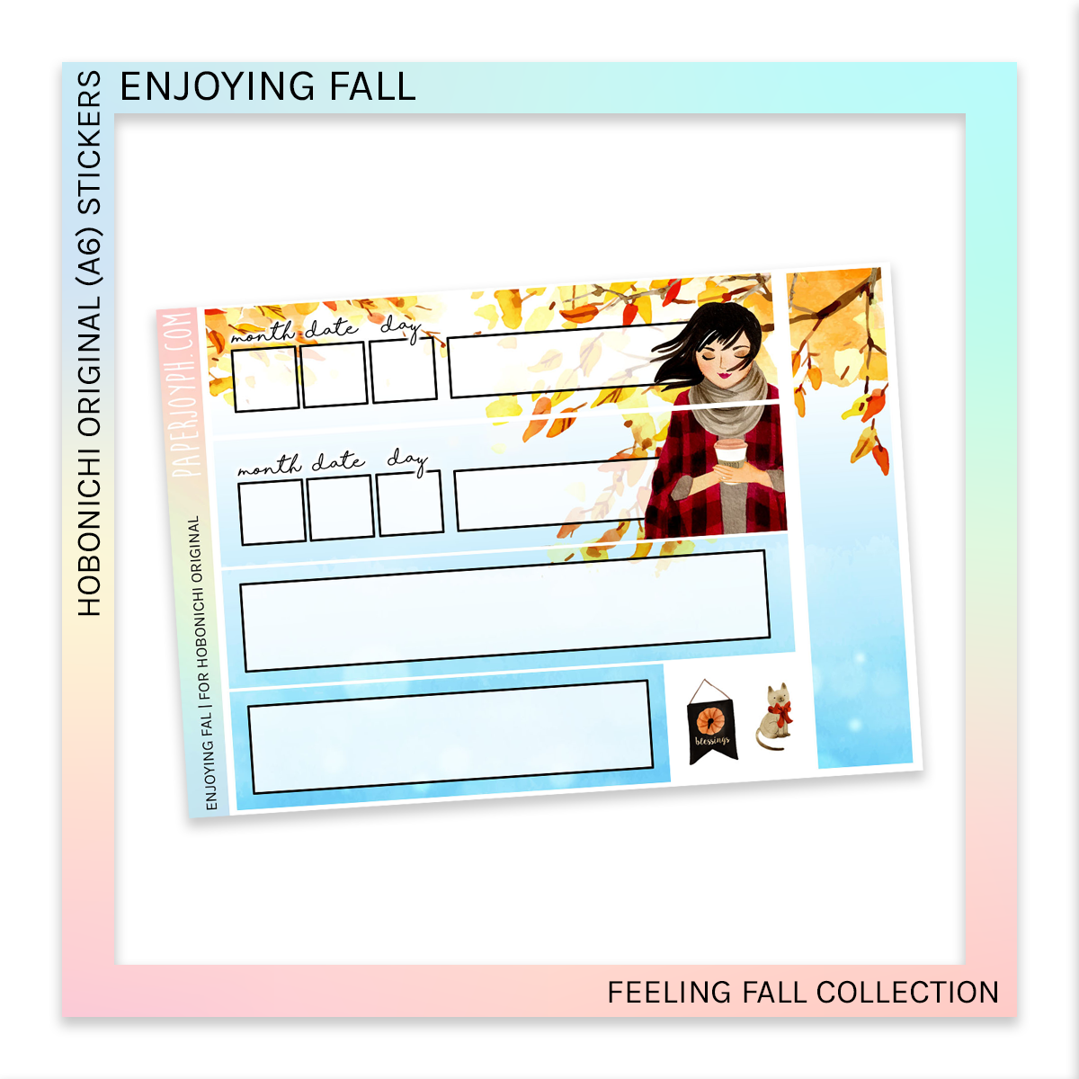 HOBONICHI ORIGINAL (A6) | Feeling Fall Bundle