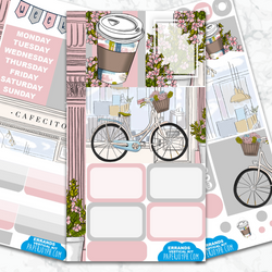 Personal Planner Vertical Sticker Kit | ERRANDS
