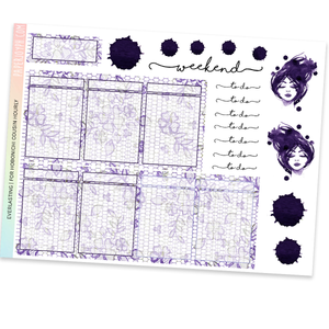 HOBONICHI COUSIN | HOURLY STICKER KIT | Eternal