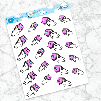 Joy Stickers | EXHAUSTED
