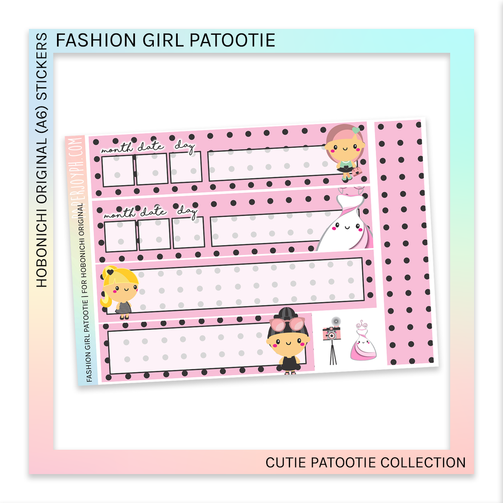 HOBONICHI ORIGINAL (A6) | Fashion Girl Patootie