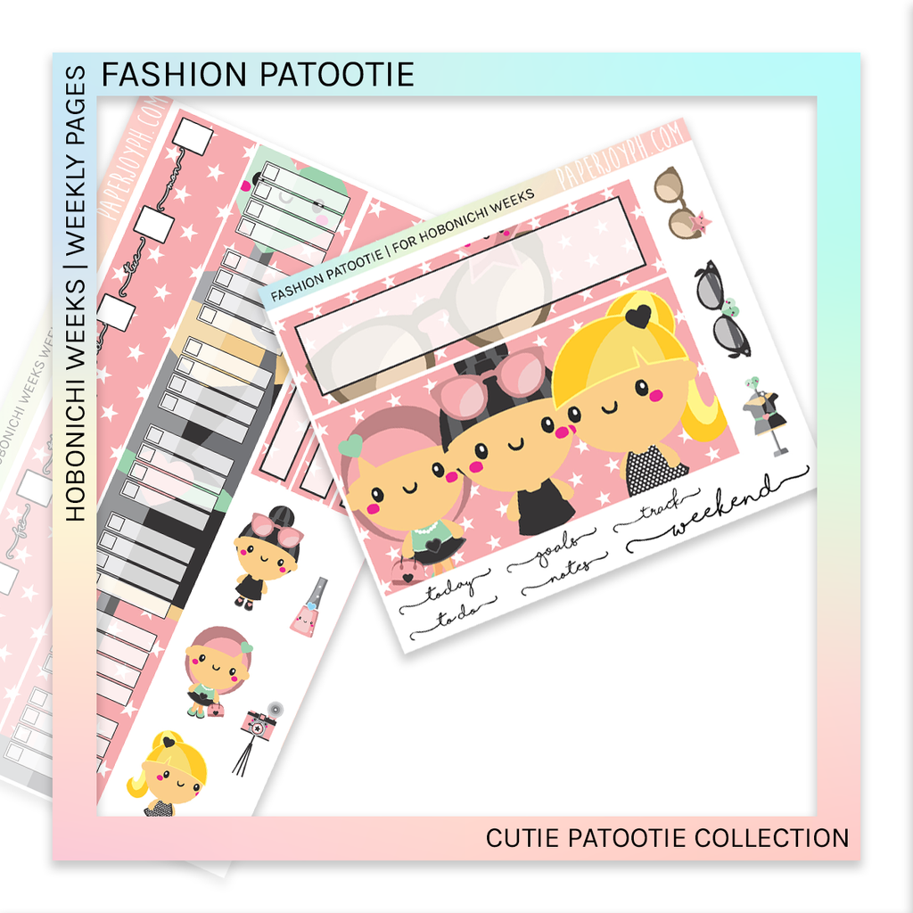 HOBONICHI WEEKS | WEEKLY PAGES | Fashion Patootie