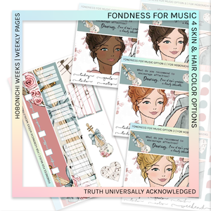 HOBONICHI WEEKS | WEEKLY PAGES | Fondness for Music