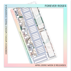 HOBONICHI WEEKS | ESSENTIALS | Forever Roses