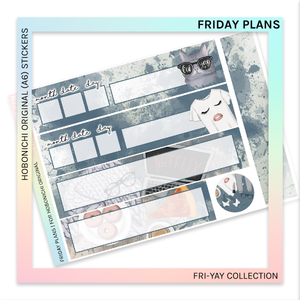 HOBONICHI ORIGINAL (A6) | Friday Plans